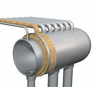 Изоляция технологического оборудования прошивным матом CONLIT MAT (PRO ROX WM950 ALU), толщина 30мм, фото 1