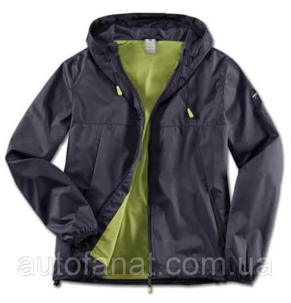 Оригинальная мужская куртка BMW Active Jacket, Men, Blue Nights / Wild Lime (80142460993)