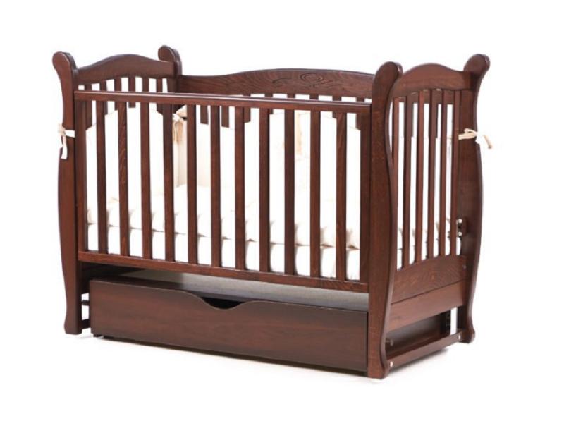 Детская кроватка Верес Соня ЛД15 поперечный маятник + ЯЩИК (+1260грн)