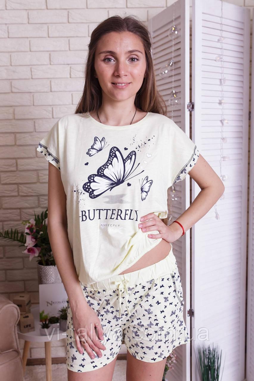 Пижама женская с шортами Nicoletta  80896, фото 1