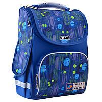 """Рюкзак шкільний каркасний ортопедичний для хлопчика PG-11 """"Galaxy"""", SMART"""