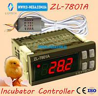 Терморегулятор LILYTECH ZL-7801A регулятор температуры, влажности и переворота яиц, фото 1