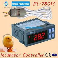 Терморегулятор LILYTECH ZL-7801C регулятор температуры, влажности и переворота яиц, фото 1