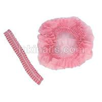 Шапочка для солярия, розовая, упаковка 100 шт