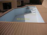 Уголок для террасной доски из ДПК Хольцдорф  3000x47x47 мм альтер, фото 3