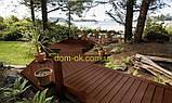 Уголок для террасной доски из ДПК Хольцдорф  3000x47x47 мм альтер, фото 4