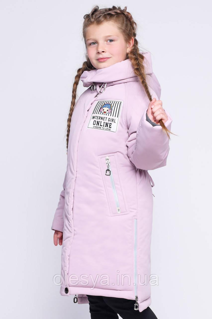 Детская зимняя куртка для девочек X-Woyz 8264 размер 34