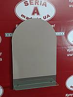 Зеркало в ванную с полочкой №35 (Б) /Дюбель 6х40 в Подарок
