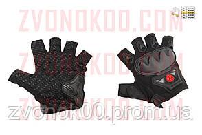 Перчатки без пальцев   (mod:MC-29D,size:L, черные)   SCOYCO