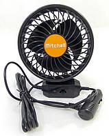 Вентилятор автомобильный 24 В Mitchell HX-T702 на присоске, фото 1