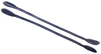 Ручки для сумок, кожа, цв. темно-синий, р. 41/59*1,2 см