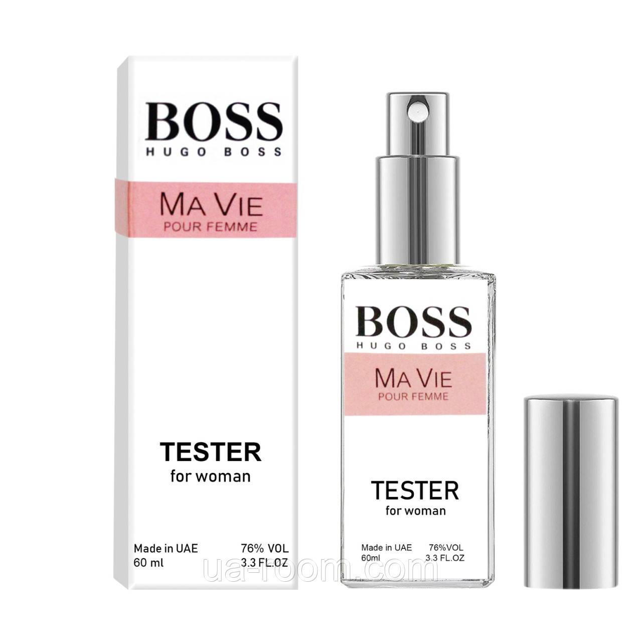Тестер DUTYFREE  женский Hugo Boss Boss Ma Vie Pour Femme, 60 мл.