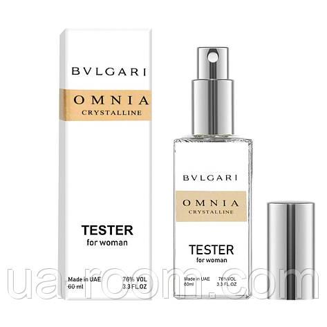 Тестер DUTYFREE  женский Bvlgari Omnia Crystalline, 60 мл., фото 2
