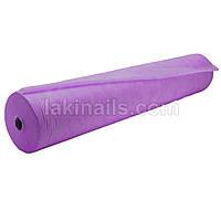 Простынь в рулоне, фиолетовая, 0,6 м * 100 м