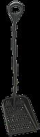 Ергономічна лопата зі зливними отворами, 1305 мм (з D-подібною ручкою) Vikan (Данія)