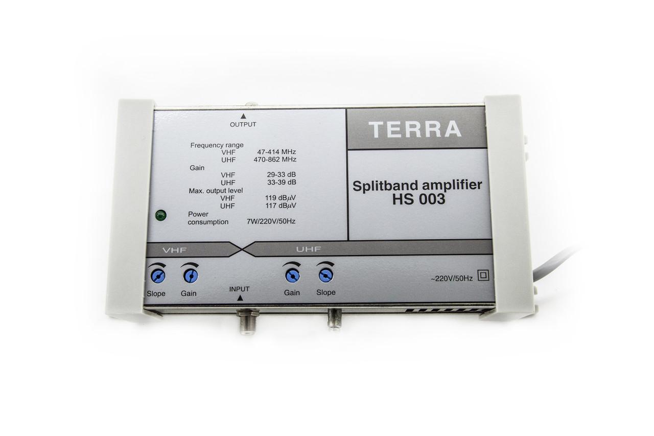 Усилитель телевизионного сигнала домовой TERRA HS 003