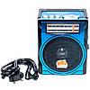 Радиоприемник GOLON RX 1435, аккумуляторный, портативный приемник, FM радио, MP3, c фонариком, фото 3