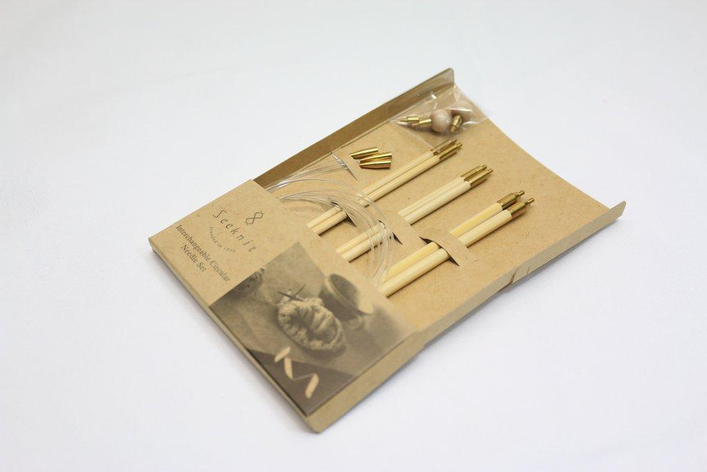 Мини-набор спиц KA Seeknit Small set 14cm 3 / 3 / 1 / 1