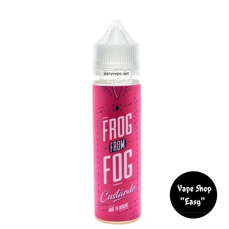 Frog From Fog Custardo 60 ml Премиум жидкость для электронных сигарет\вейпа.