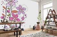 Фотообои Флизелиновые Полевые цветы на заказ. Любая картинка и размер