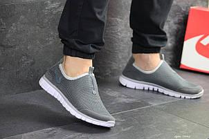 Летние кроссовки Nike Free Run 3.0,серые 44р, фото 2