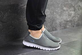 Літні кросівки Nike Free Run 3.0,сірі 44р, фото 3