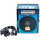Радиоприемник GOLON RX 1435, FM радио, MP3, USB, c фонариком,аккумуляторный,слот для карт памяти., фото 4