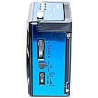 Радиоприемник GOLON RX 1435, FM радио, MP3, USB, c фонариком,аккумуляторный,слот для карт памяти., фото 6