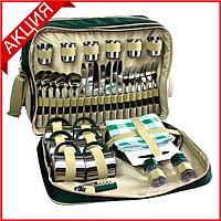 Набор для пикника Time Eco TE-618 Picnic на 6 персон (термосумка + посуда)
