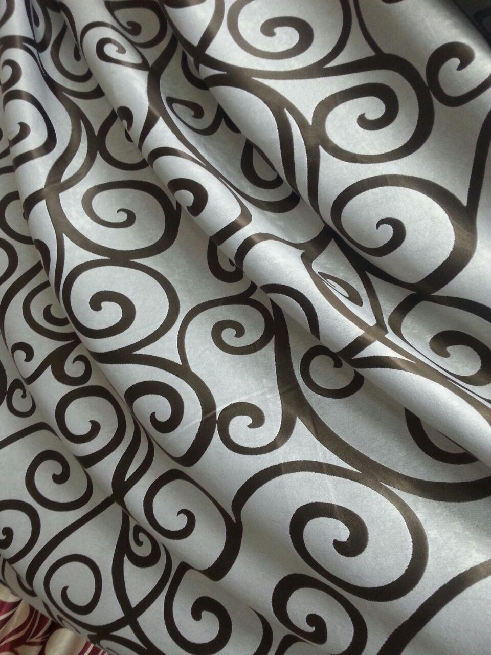 Готовые шторы блекаут вензеля