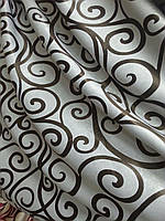 Готовые шторы блекаут вензеля, фото 1