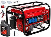 Бензиновый генератор KRAFT&DELE KW6500 KD130