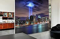 Фотообои Флизелиновые Ночной город на заказ. Любая картинка и размер