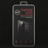 Защитное стекло для Honor 8 Lite полноэкранное черное Box, фото 1