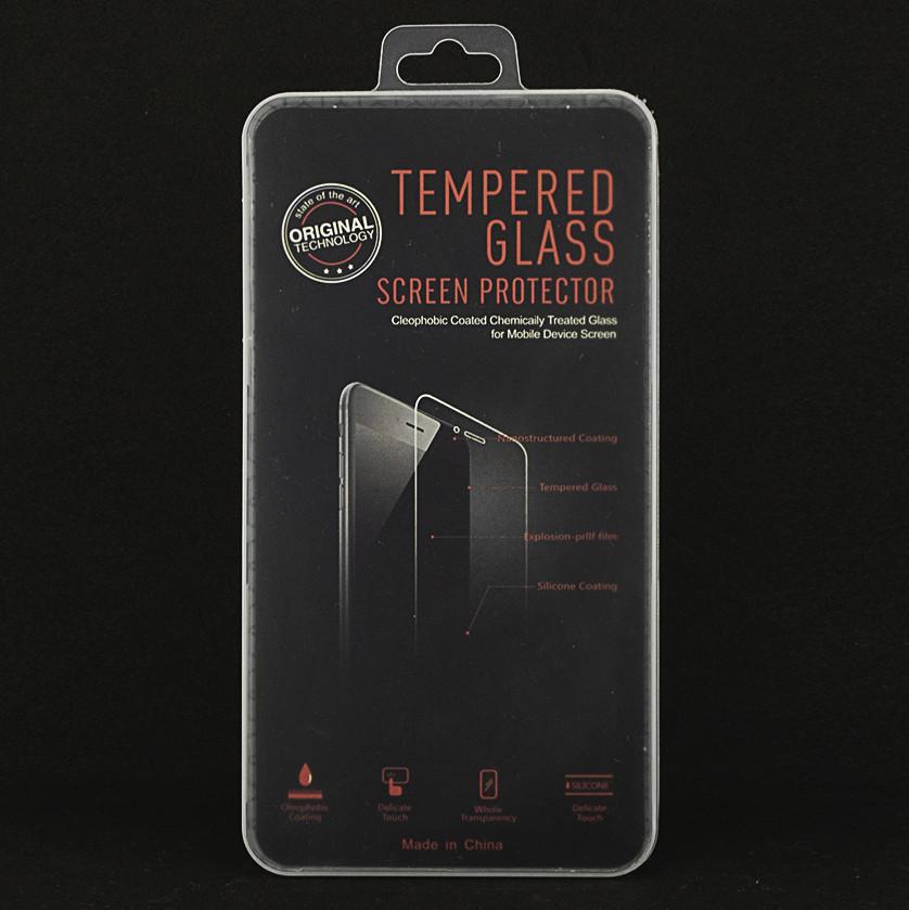 Защитное стекло для Honor 8 Lite полноэкранное черное Box