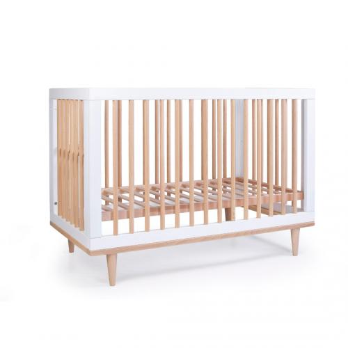 Детская кроватка Верес Нью Йорк цвет Бело-Буковый