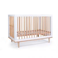 Детская кроватка Верес Нью Йорк цвет Бело-Буковый , фото 1