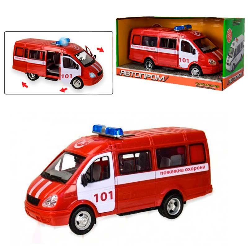 """Машинка """"Пожежна охорона"""" 7661-1"""