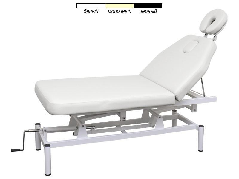 Кушетка масажний стіл модель 257 2-х секційний з регульованою висотою