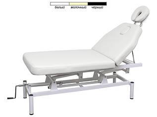 Кушетка массажный стол модель 257 2-х секционный с регулируемой высотой