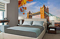 Фотообои Флизелиновые Осень в Лондоне на заказ. Любая картинка и размер