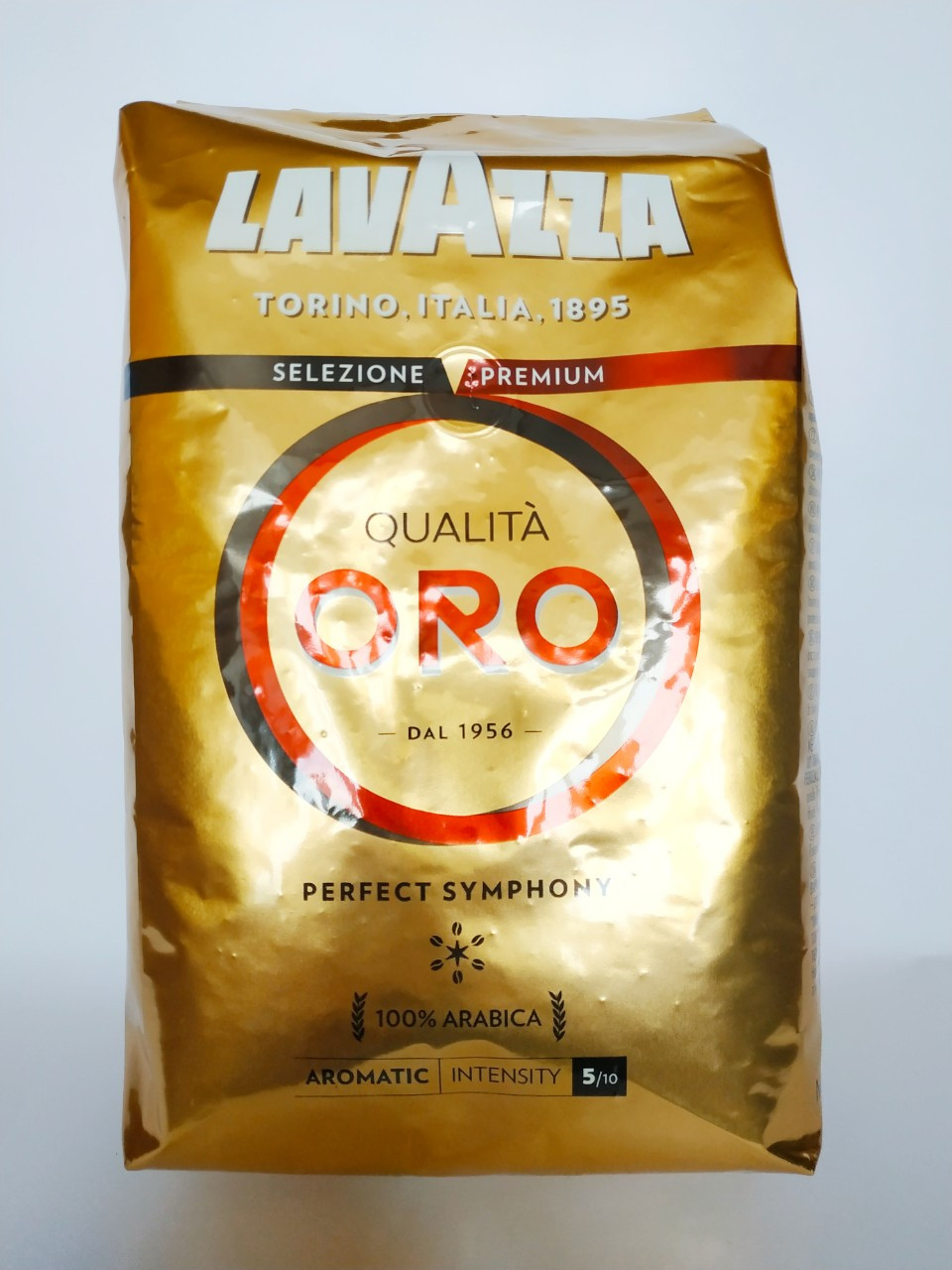 Кофе Lavazza Qualita Oro (кофе Лавацца Квалита Оро) в зернах 1 кг