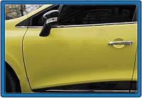 Renault Clio IV 2012-2019 гг. Накладки на дверные ручки (4 шт, нерж)