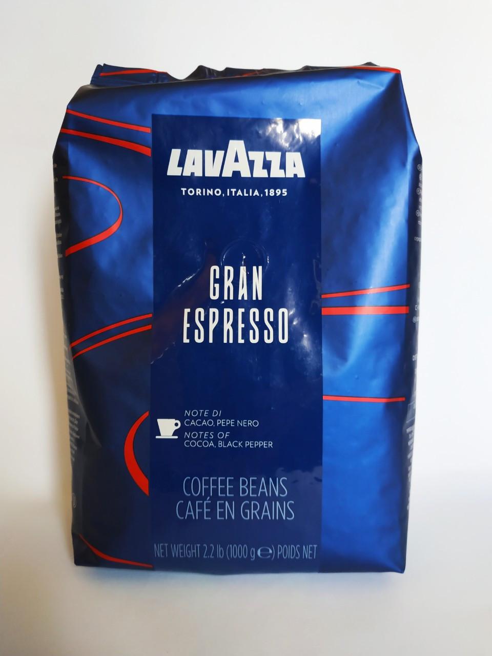 Кофе Lavazza Gran Espresso (кофе Лавацца Гран Эспрессо) в зернах 1 кг