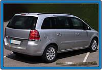 Opel Zafira B 2006-2011 гг. Накладка на задний бампер OmsaLine (нерж.)