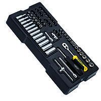 Набор инструмента головок и насадок з воротками 60од Stanley STMT1-74175