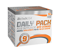 Витамины BioTechUSA Daily Pack, 30pack, фото 1