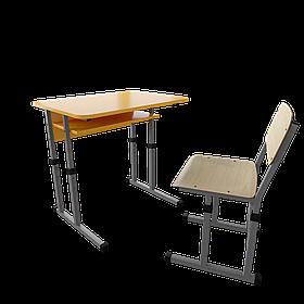 Школьный комплект 1/2 70х50 (Металл дизайн)