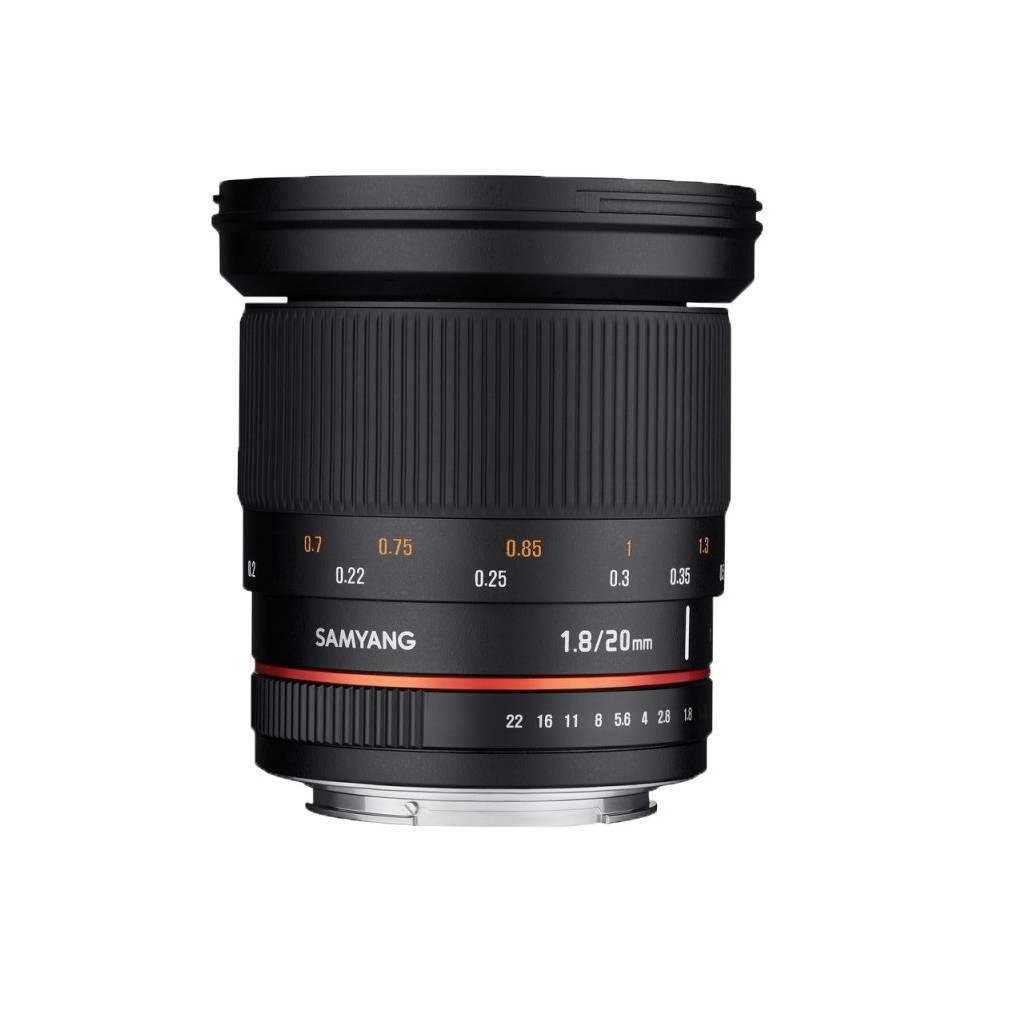 Samyang 20mm f/1,8 ED AS UMC Nikon