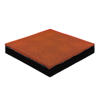 Гумова плитка 40 мм (помаранчева)